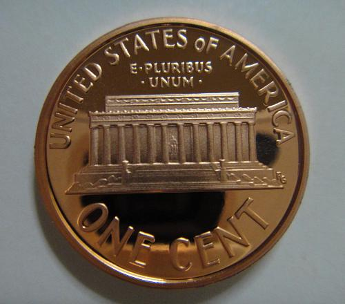 2008-S Lincoln Cent Proof-65 (GEM) RED