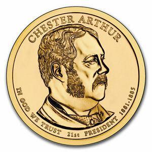 2012  D  CHESTER ARTHUR GOLDEN DOLLAR