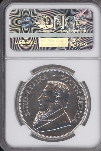 1 Rand South Africa 2017 50th Yrs. NGC graded SP 69