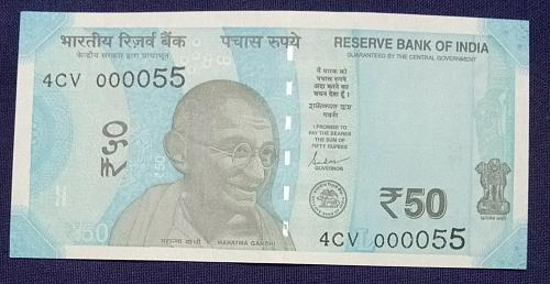 2019...4CV 000055.. UNC India note
