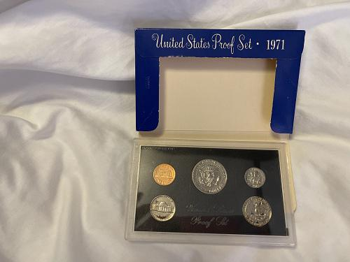 1971 S US PROOF SET