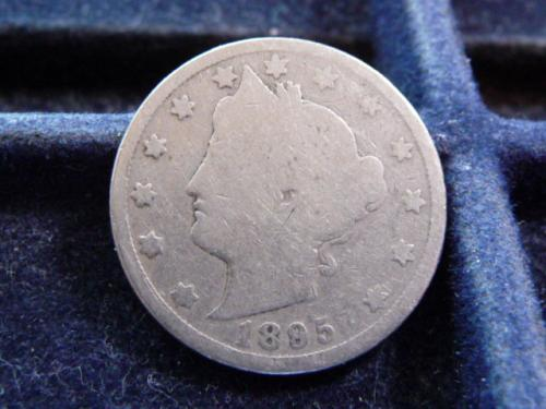 1889-P LIBERTY NICKEL IN GOOD CONDITION (GOOD FILLER COIN)  L-14-20