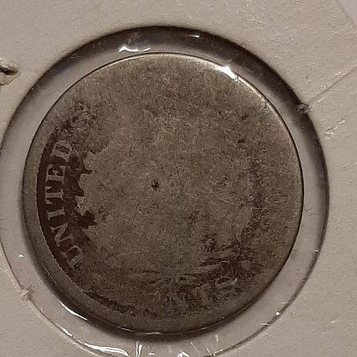 1887 P Liberty Nickel AG