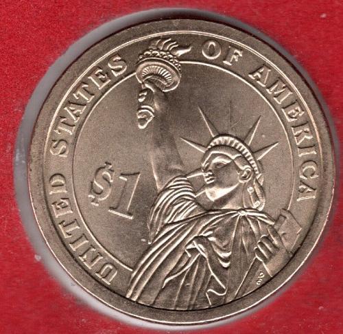 2007 P Presidential Dollars: Martin Van Buren -4a