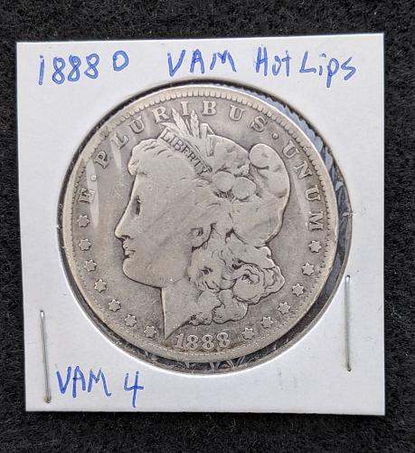 1888 O Morgan DDO VAM4 Hot Lips