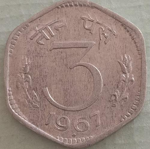 Extra fine..coin ..india...1967