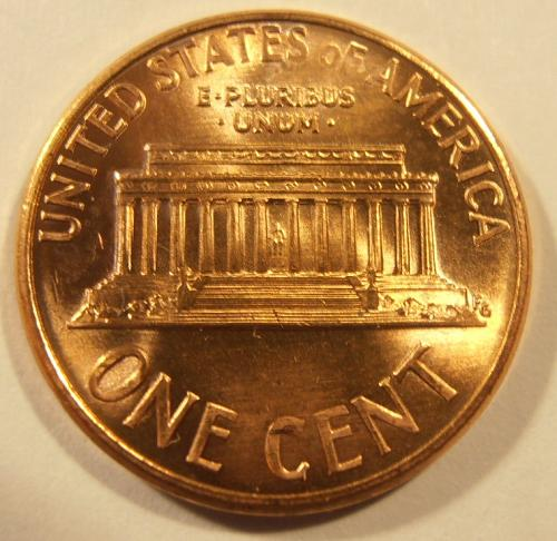 1992 P LINCOLN CENT, BU from a nice roll