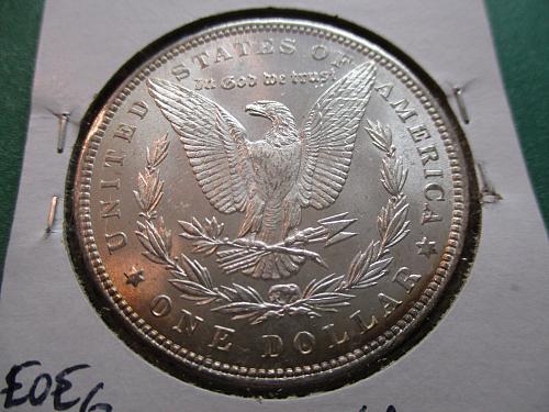 1886  MS61 Morgan Dollar.  Item: DM 86-06.