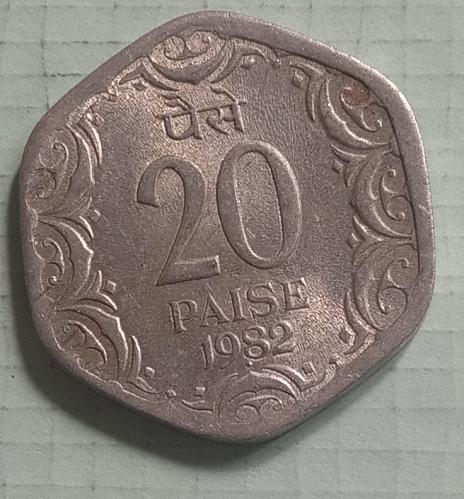 4).....India used Extra fine coin....