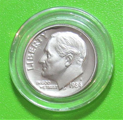 1984-S 10C Roosevelt Dime - Cameo Proof