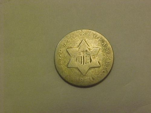 1853  3 CENTS SILVER  TYPE 1           af26