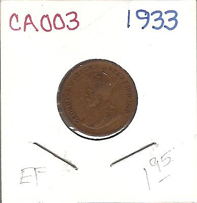 1933 Canada One Cent