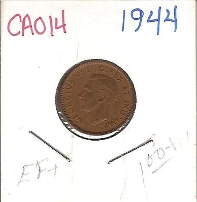 1944 Canada One Cent
