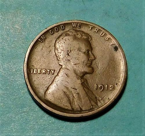 1912 P  Lincoln Wheat Cent
