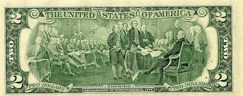 10 - $2.00 Bills   Series 1995  CRISP & Numbers are in SECQUENCE