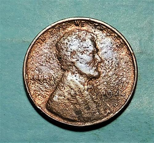 1926 S Lincoln Wheat Cent