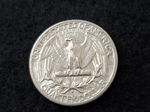 Nice AU 1943-S Washington Quarter