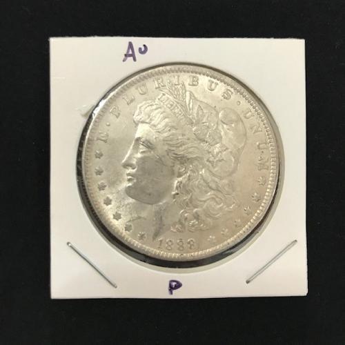 1888 P Morgan Dollar