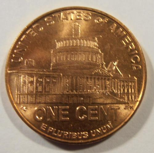 2009 D LINCOLN CENT, LP4, BU, selected from a nice roll