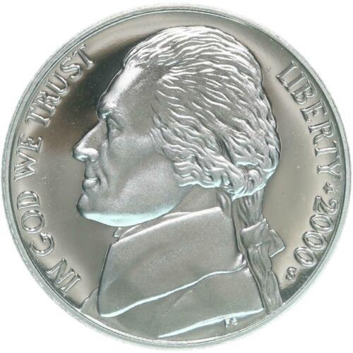 2000  S  PROOF JEFFERSON NICKEL