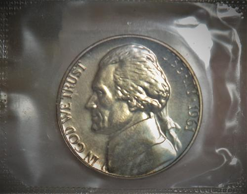 1961 Jefferson Nickel Proof