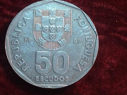 1989 Portugal 50 Escudos