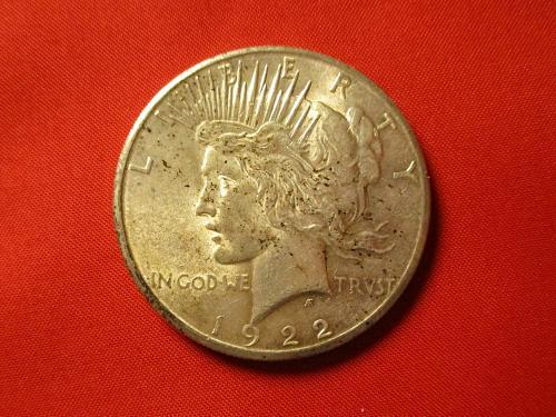 1922 S Peace Dollar  $2
