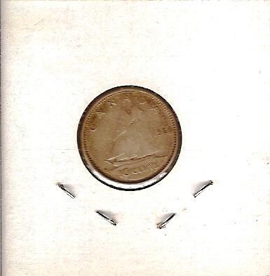 1960 Canada Ten Cent