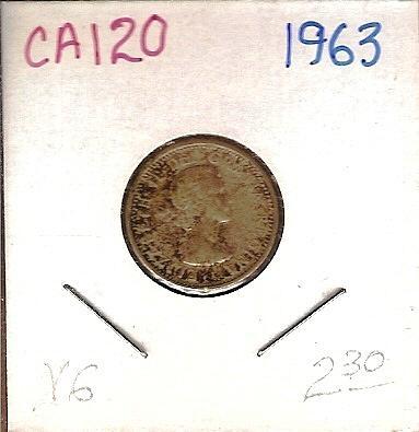 1963 Canada Ten Cent