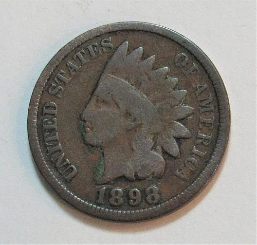 1898 1 Cent - Indian Head Cent