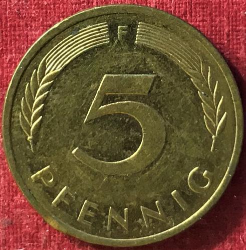 Germany 1983 F (F - Stuttgart mint) - 5 Pfennig
