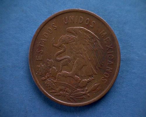 1959 MEXICO  TEN CENTAVOS