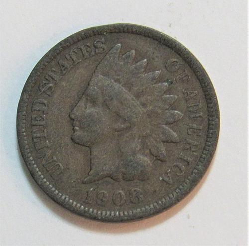 1908 1 Cent - Indian Head Cent
