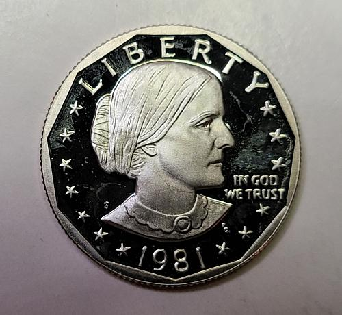 1981-S Proof Type 1 Anthony Dollar Proof-66 (GEM+)