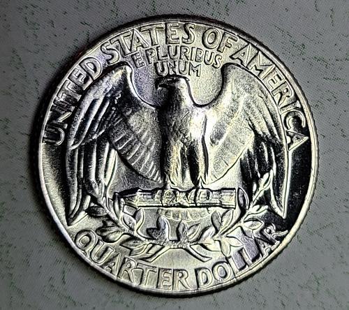 1960 TYPE B Washington Quarter MS-64 (Near Gem) BLAST WHITE!