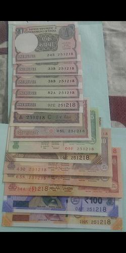 251218.... Christmas Date. India UNC Variety lot