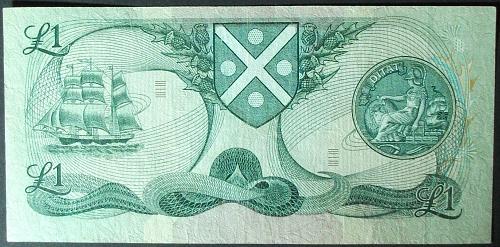 Scotland P111d Pound F-VF