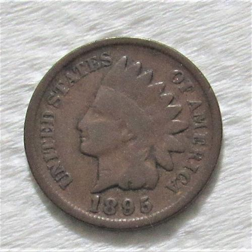 1895 1 Cent - Indian Head Cent
