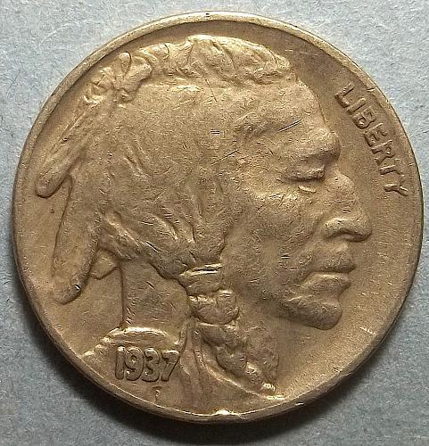 1937s  Buffalo Nickel  Lot BN7s