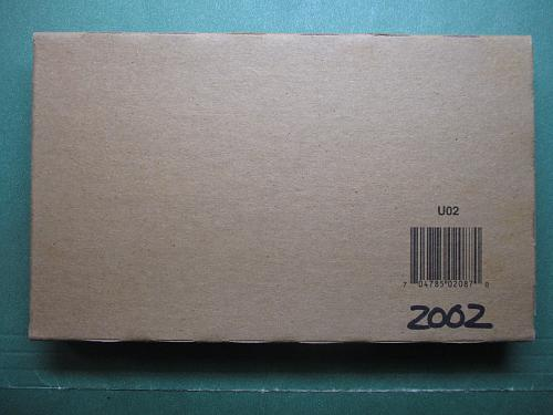 2002  United States Mint Set.  Unopened Box.  Item: MS 02K.