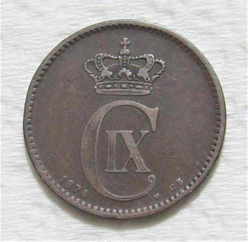 1874 Denmark 5 Ore