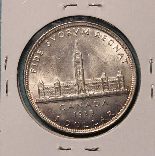 Canada 1939 Royal Visit Dollar