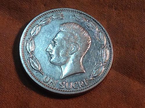 1985 Ecuador Un Sucre