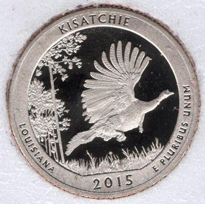 2015 S Kisatchie America The Beautiful Quarters: Proof -#5a