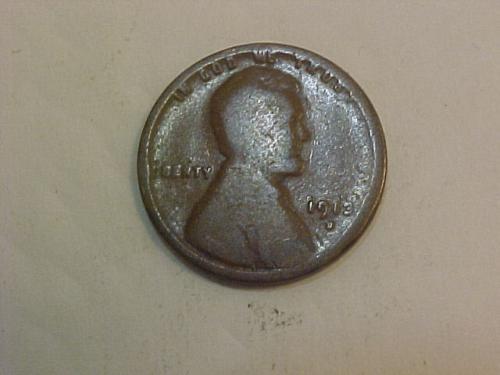 1913 D LINCOLN CENT           ag22
