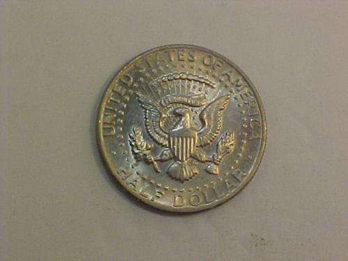 1971 KENNEDY HALF DOLLAR       ag34