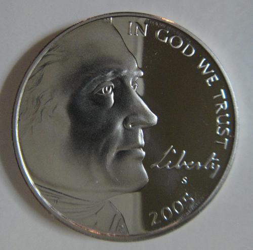 2005-S BISON Jefferson Nickel Proof-66 (GEM+)