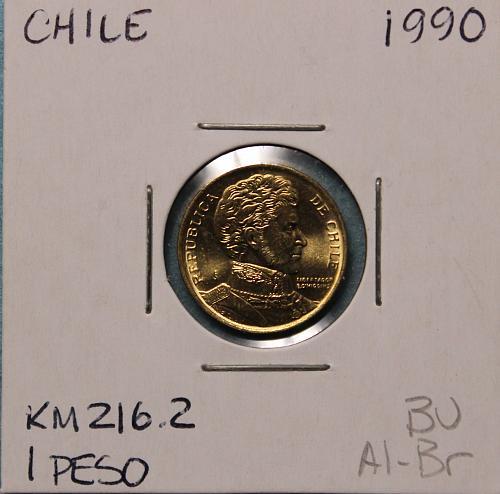 Chile 1990 Peso