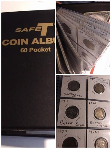 60 Pc. American Coin Collection 1888-2000...1c,5c,10c,25c 🇺🇸 coins