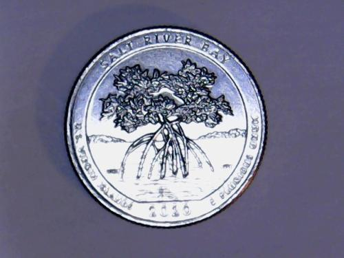 2020 D Salt River Bay America The Beautiful Quarter  See Pictures